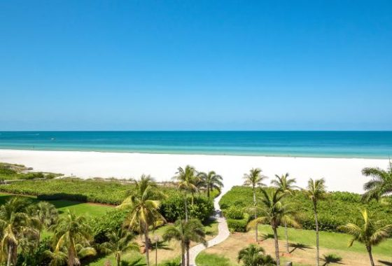 280 S Collier Blvd 606 at the center of condo row on Marco Island, Florida