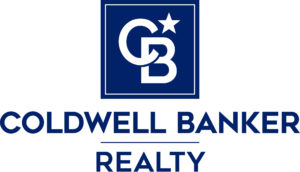 Coldwell Banker Realty logo. Coldwell Banker is the broker for Doug and Nicki Davis